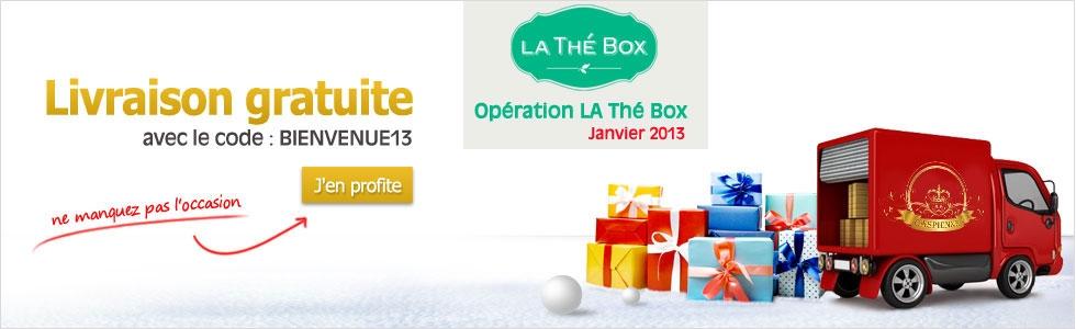 Caspienne - La Thé Box Banner